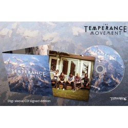 """The Temperance Movement """"The Temperance Movement"""" Digi sleeve CD with Signed Insert"""