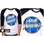 "White Wizzard ""Logo"" American Apparel 3/4 Sleeve Raglan Baseball Shirt"