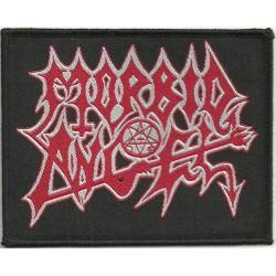 "Morbid Angel ""Logo"" Woven Patch - 10cm x 8cm"