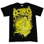 """Oceano """"Eat Flesh"""" Black T-shirt"""
