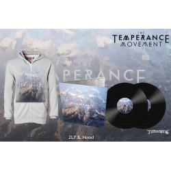 """The Temperance Movement """"The Temperance Movement"""" 2LP Black Vinyl w/ 2 Bonus Tracks & Zip Hoodie"""