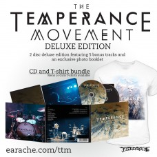 "The Temperance Movement ""The Temperance Movement"" 2 Disc Deluxe Edition + T-shirt - PRE-ORDER"
