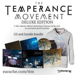 """The Temperance Movement """"The Temperance Movement"""" 2 Disc Deluxe Edition + Zip Hoodie"""