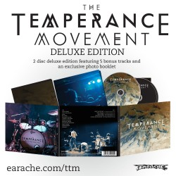 """The Temperance Movement """"The Temperance Movement"""" 2 Disc Deluxe Edition"""